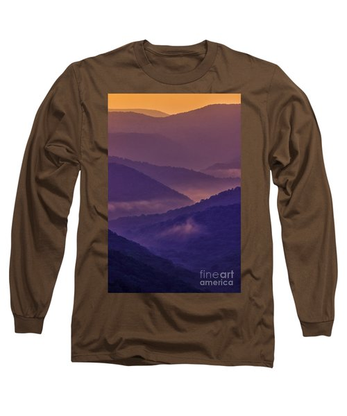 Allegheny Mountain Sunrise Two Long Sleeve T-Shirt