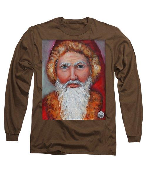 3d Santa Long Sleeve T-Shirt
