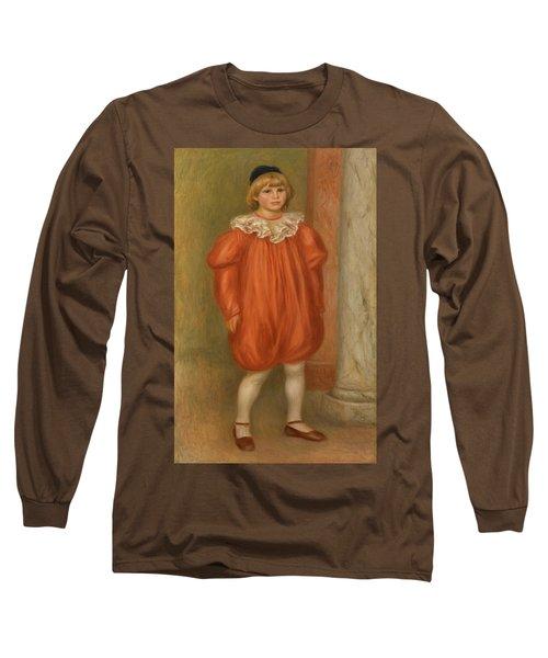Claude Renoir In Clown Costume Long Sleeve T-Shirt