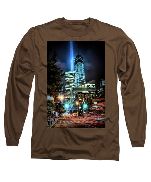 Long Sleeve T-Shirt featuring the photograph Freedom Tower by Theodore Jones