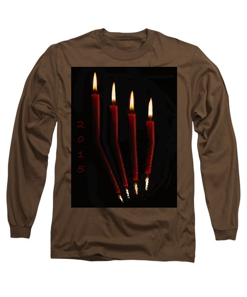 4 Reflected Candles Long Sleeve T-Shirt