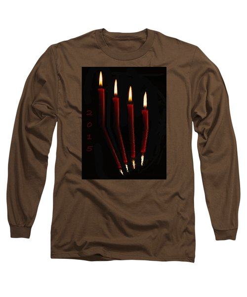 4 Reflected Candles Long Sleeve T-Shirt