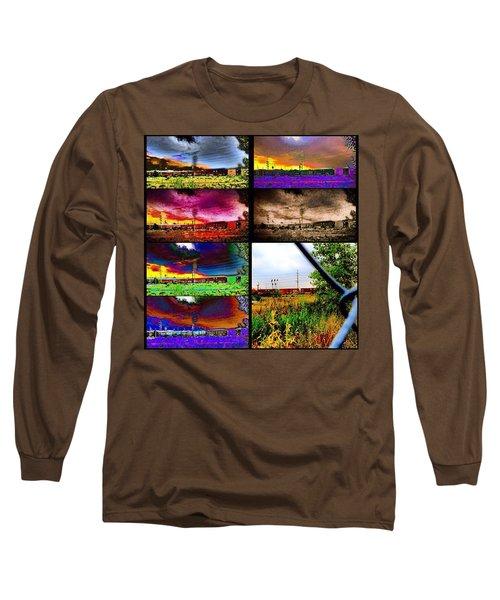 Urban Mobile Art Installation Long Sleeve T-Shirt