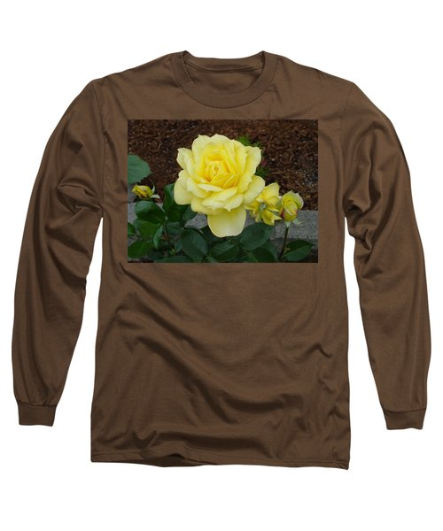 4 Yellow Roses Long Sleeve T-Shirt