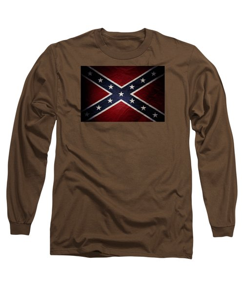 Confederate Flag Long Sleeve T-Shirt