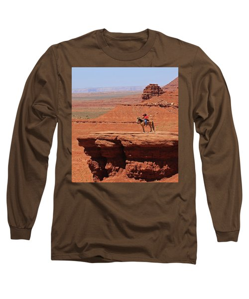 Grand Canyon Long Sleeve T-Shirt by Ronald Olivier