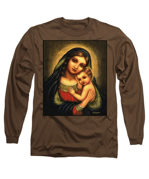 Oval Madonna Long Sleeve T-Shirt