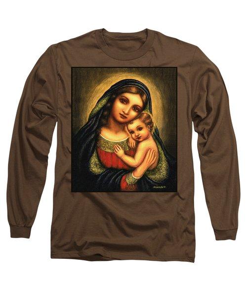 Oval Madonna Long Sleeve T-Shirt