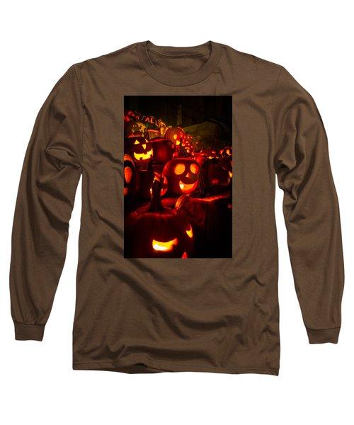 Long Sleeve T-Shirt featuring the photograph Pumpkinfest 2015 by Robert Clifford