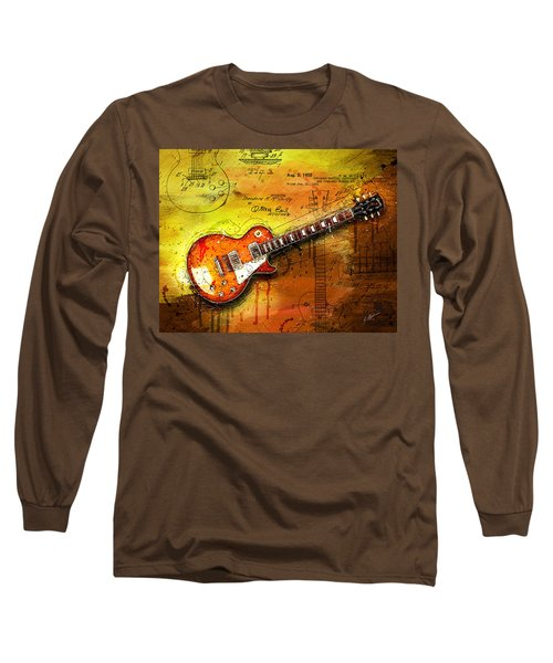 55 Sunburst Long Sleeve T-Shirt by Gary Bodnar