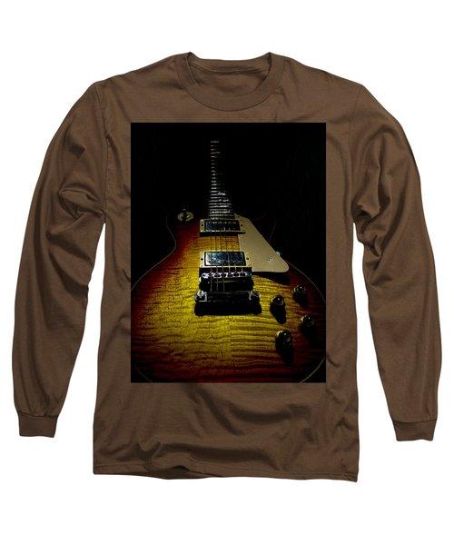 Long Sleeve T-Shirt featuring the digital art 59 Reissue Guitar Spotlight Series by Guitar Wacky