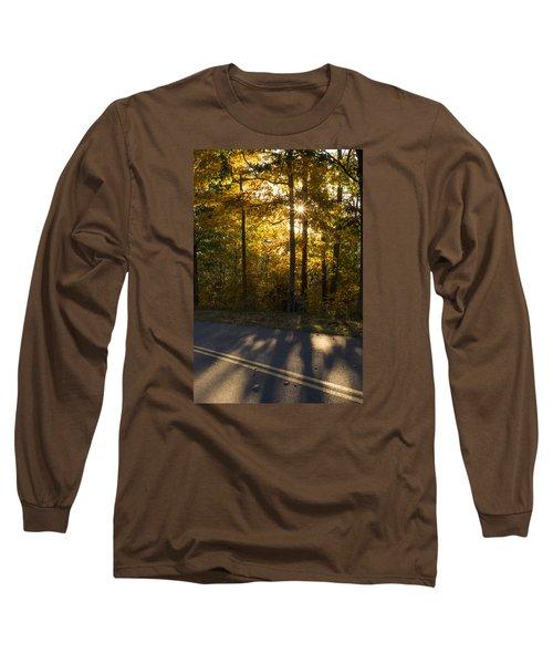 Fall Color Virginia West Virginia Long Sleeve T-Shirt by Kevin Blackburn