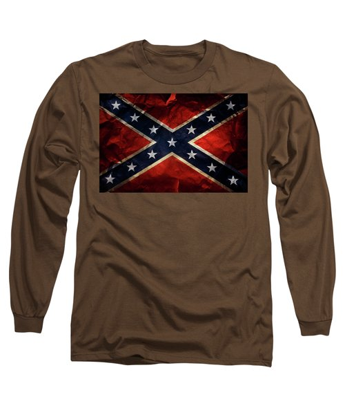 Confederate Flag 9 Long Sleeve T-Shirt