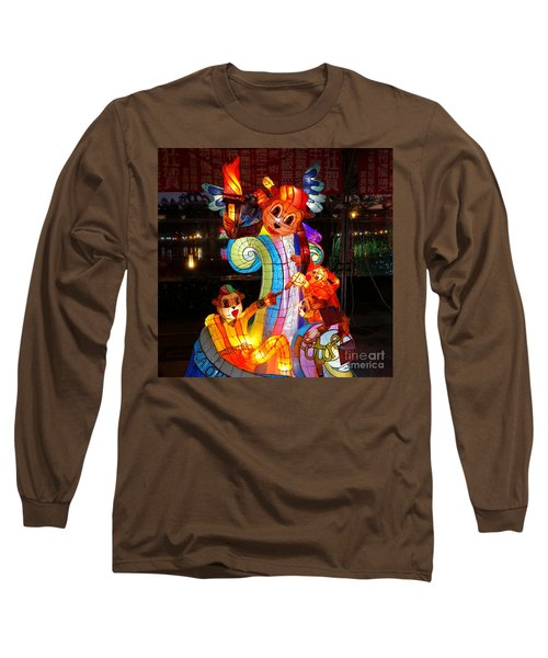 The 2016 Kaohsiung Lantern Festival Long Sleeve T-Shirt by Yali Shi