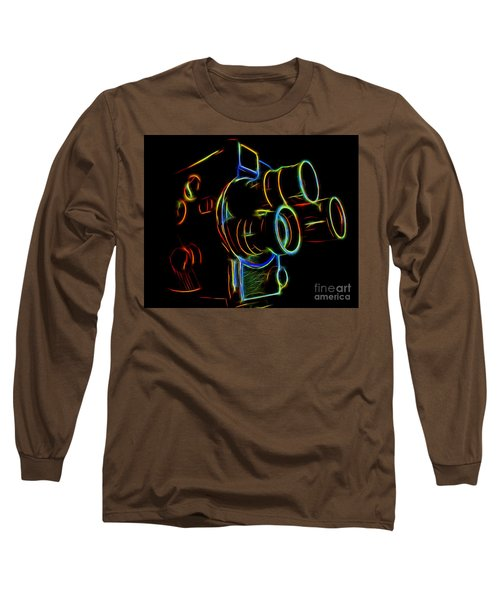 8mm In Neon Long Sleeve T-Shirt