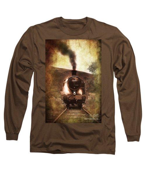 A Bygone Era Long Sleeve T-Shirt by Meirion Matthias