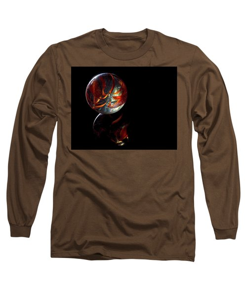 Long Sleeve T-Shirt featuring the photograph A Child's Universe by James Sage