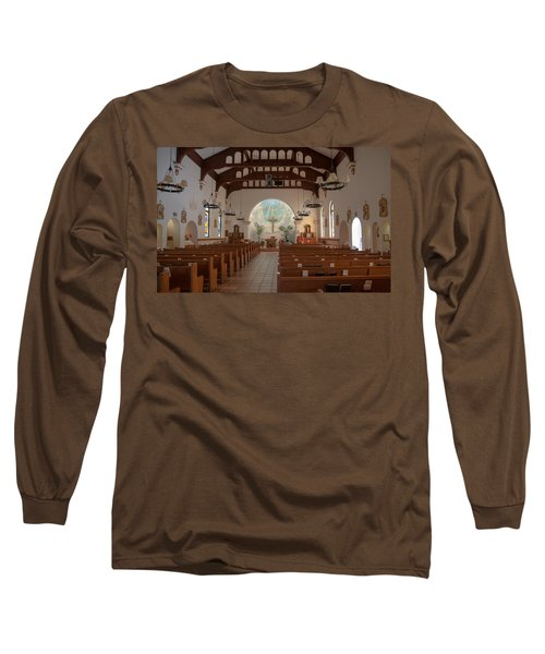 A Church Is Really Never Empty Long Sleeve T-Shirt by Monte Stevens
