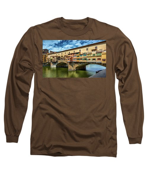A Closer Look To Ponte Vecchio Long Sleeve T-Shirt