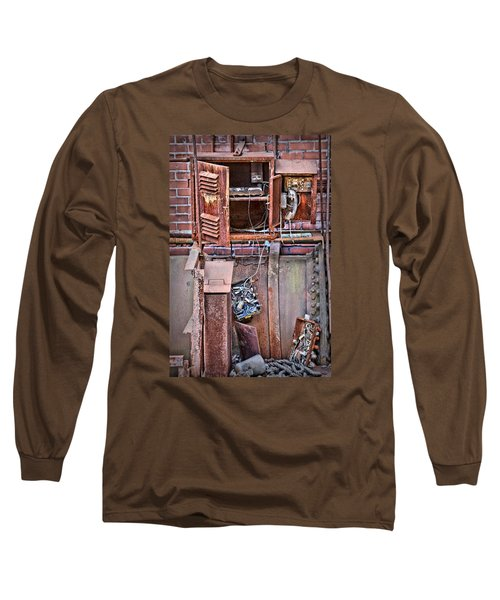 Long Sleeve T-Shirt featuring the photograph A Collaboration Of Rust by DJ Florek