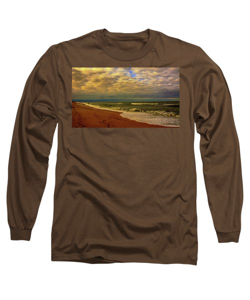 A Congregation Of Clouds Long Sleeve T-Shirt by John Harding