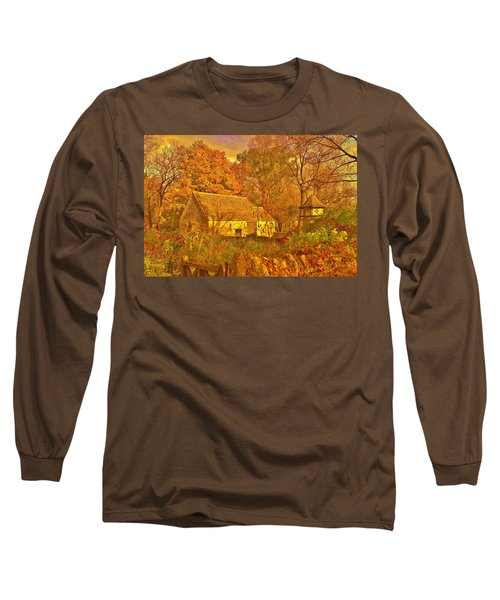 A Cotswald Fall  Long Sleeve T-Shirt by Daniel Thompson