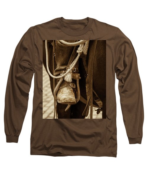 A Cowboy's Boot Long Sleeve T-Shirt