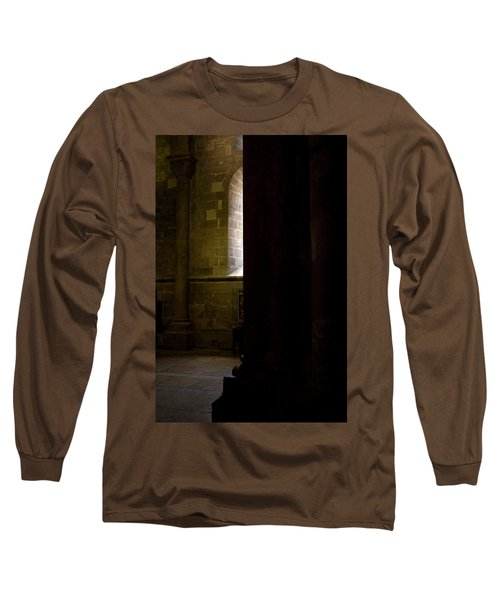 Long Sleeve T-Shirt featuring the photograph Slice Of Light by Lorraine Devon Wilke
