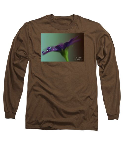 A Daisy Delivery Long Sleeve T-Shirt by Kym Clarke