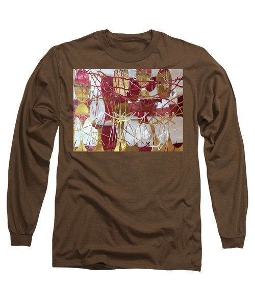 A Dance Of Rubies And Old Gold Long Sleeve T-Shirt