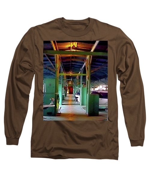 A Delta Boat Shed Long Sleeve T-Shirt