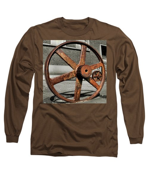A Gear In A Gear Long Sleeve T-Shirt