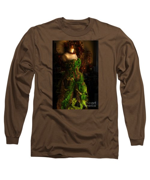 A Gown For A Faerie Princess Long Sleeve T-Shirt by William Fields