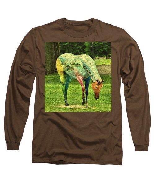 A Horse Is A Horse Long Sleeve T-Shirt
