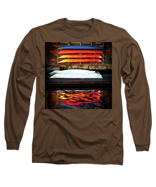 A Little Reflection Before The Adventure Long Sleeve T-Shirt