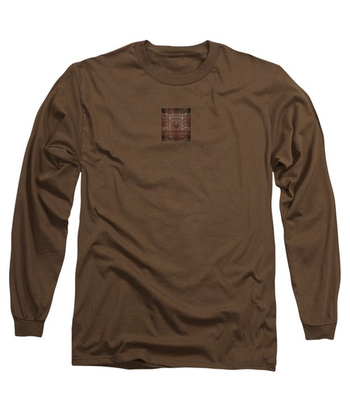 Long Sleeve T-Shirt featuring the photograph A Loose Weave Simulation by Richard Ortolano