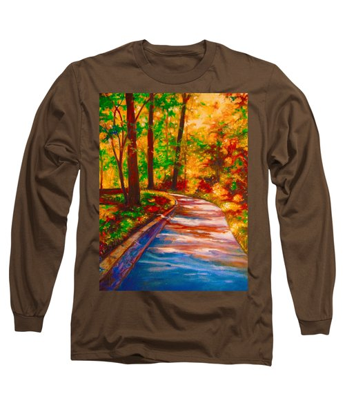 A Morning Walk Long Sleeve T-Shirt