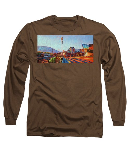 A New Day Long Sleeve T-Shirt by Bonnie Mason