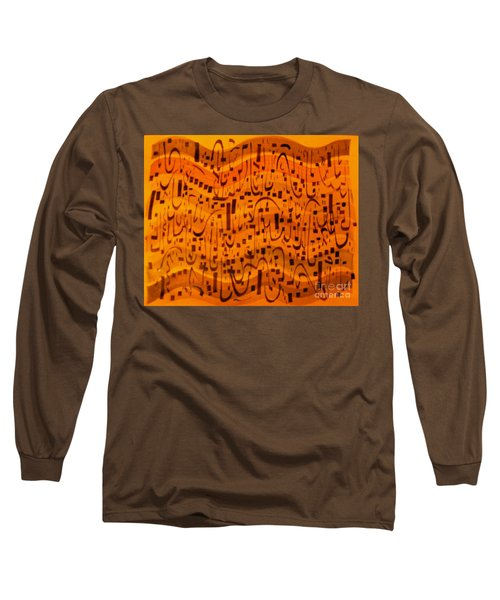 Long Sleeve T-Shirt featuring the painting A New Song by Nancy Kane Chapman