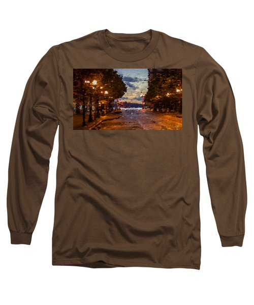 A Night Out On The Town Long Sleeve T-Shirt