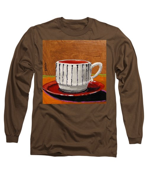 A Perfect Cup Long Sleeve T-Shirt by John Williams