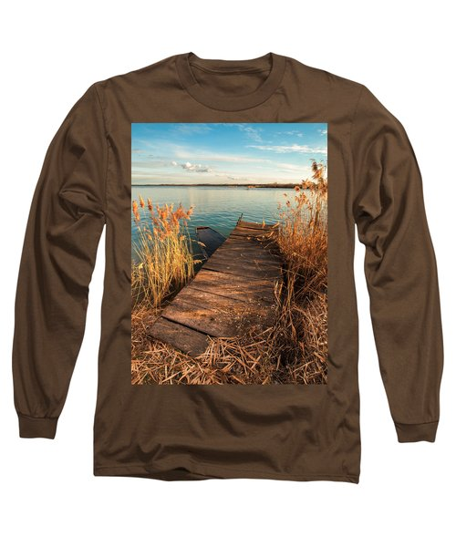 A Place Where Lovers Meet Long Sleeve T-Shirt by Davorin Mance