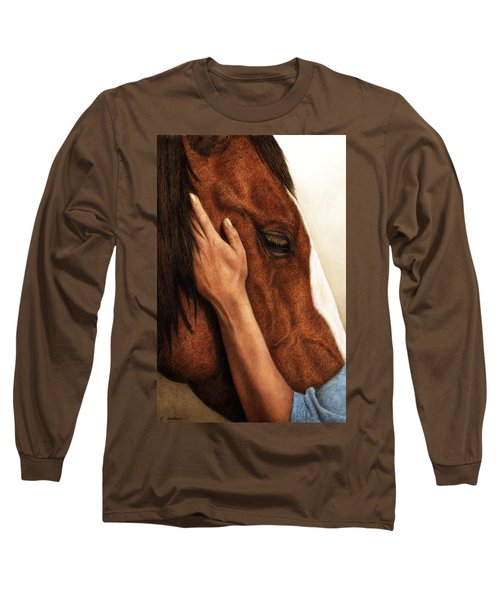 A Quiet Moment Long Sleeve T-Shirt
