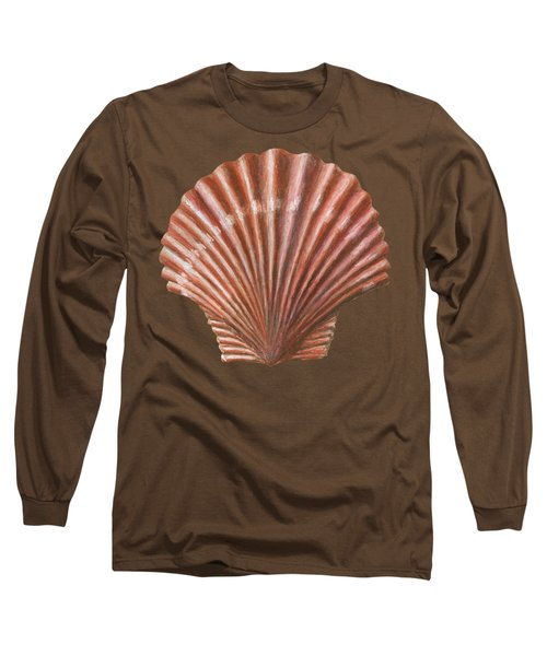 A Quincunx Of Scallop Shells Long Sleeve T-Shirt