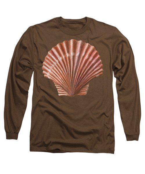 A Quincunx Of Scallop Shells Long Sleeve T-Shirt