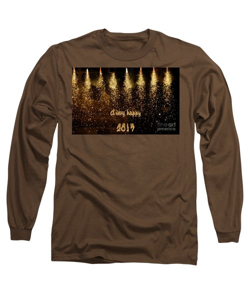 A Very Happy 2017 Long Sleeve T-Shirt