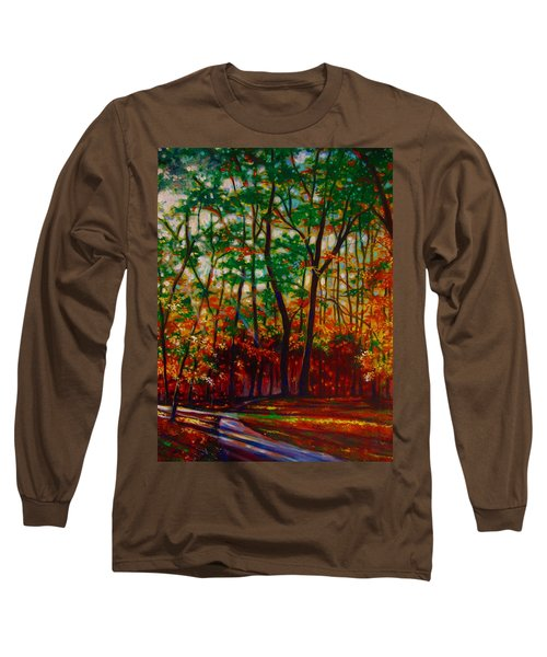 A Walk In The Park Long Sleeve T-Shirt by Emery Franklin