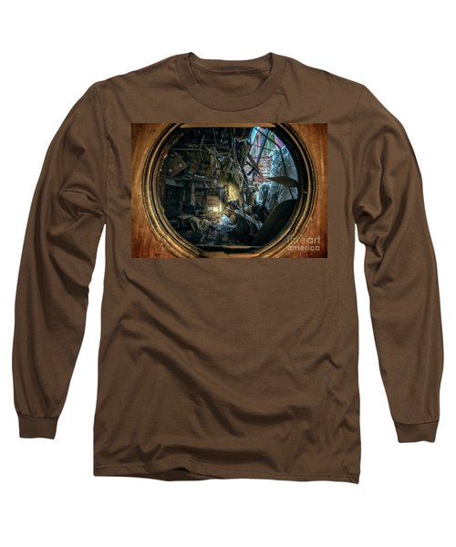 Abandoned Decay Long Sleeve T-Shirt