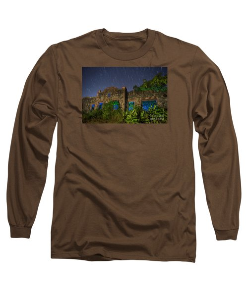 Long Sleeve T-Shirt featuring the photograph Abandoned Outlaw Gas Station II by Keith Kapple