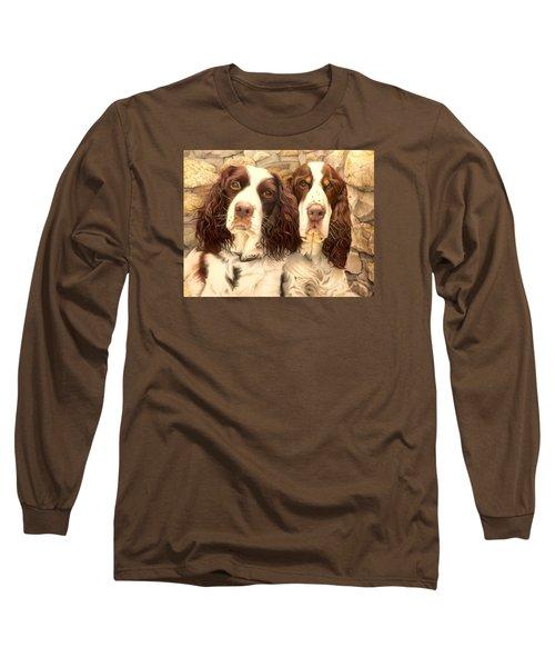 Abby And Romeo Long Sleeve T-Shirt